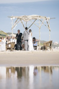beach ceremony in South Africa