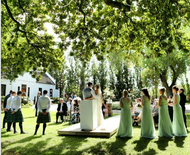 Molenvliet Wine Estate Wedding